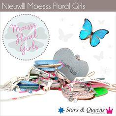 Moesss Floral Girls by Pimps&Pearls Dutch Design www,pimpsandpearls.nl