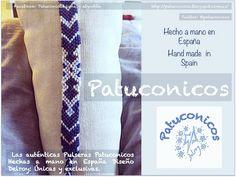 FriendShip bracelet patuconicos hand made in Spain; pulseras Patuconicos hechas a mano en España. 6€ más gastos de envío.