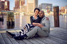 Kimberly & Francisco's Engagement Session in Baltimore Maryland — MARLON MING