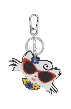 Karl Lagerfeld Choupette on the Beach Keychain Vacation Style, Vacation Outfits, Vacation Fashion, Karl Lagerfeld Choupette, Chic Outfits, Bling, Personalized Items, Shoe Bag, Pendant