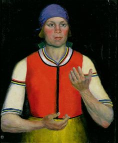 Kazimir Malevich Woman Worker 1933