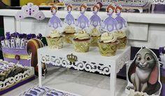 Sofia Princess Cupcakes  Violeta Glace
