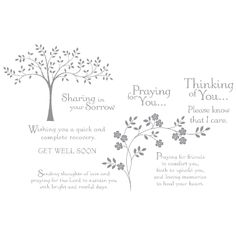 Thoughts & Prayers Clear-Mount Stamp Set - by Stampin' Up!