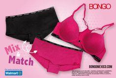 Mix & match! Lo nuevo de Bongo en underwear!