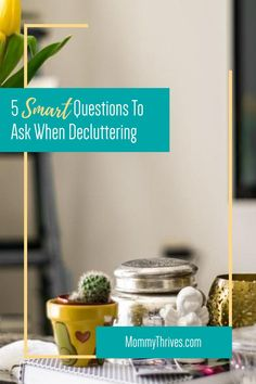 Declutter Your Home Fast - Cleaning Tips And Tricks For Decluttering - Questions To Ask When Decluttering Minimalist Living Tips, Big Kitchen, Declutter Your Home, Lose My Mind, Questions To Ask, Decluttering, Plate Sets, Serving Dishes, Getting Organized