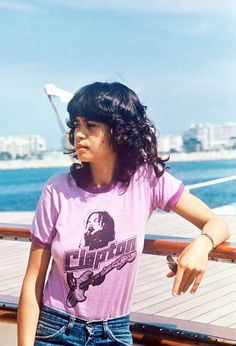 Maria Schneider at the 1975 Cannes film festival for the film The Passenger.