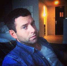 My comedy boyfriend mister blue eyes Brent Morin from NBC's Undateable! Ahhhhh.....lets just admire a man who can make you laugh and not bad on the eyes either