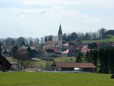 Leutkirch im Allgäu-Gebrazhofen )Merazhofen), Kirche St. Gordian und Epimachus