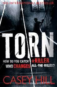 Torn By Casey Hill. Traded in today @ Canterbury Tales Bookshop / Book exchange / Cafe, Pattaya..