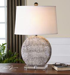 Uttermost Albinus White Lamp $290.25