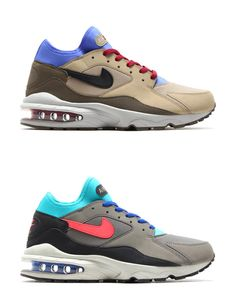 buy online e3039 94846 Nike Air Max 93 (F/W14 Colours) Beige Sneakers, Air Max Sneakers