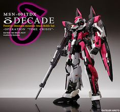 """MG 1/100 Delta Plus Decade """"Operation Time Crisis"""" Painted Build - Gundam Kits Collection News and Reviews"""