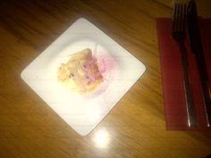Smoked 'bakalarios' with raki infused beet cubes and radish @ Restaurant SekizIstanbul