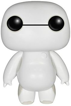 Funko- Disney Big Hero 6 Nurse Baymax, 6 Inch, Glow POP! [Amazon Exclusive] FunKo