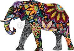 O elefante alegre