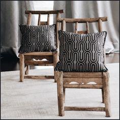 Tribeca (lescreations.com): wavy #ethnic #tribal #monochrome #interior #interiordesign #home #homedesign #homedecor #decor #decoration #homesweethome #textiles #textildesign #fabric #texture #pattern #geometry