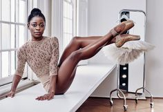 Dutch National Ballet coryphee Michaela DePrince (photo by Alique for Glamour magazine)