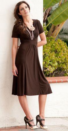 Chocolate Brown Dress Love It