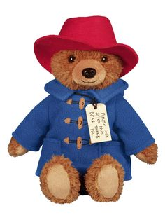 A sweet Paddington bear plush in honor of his big-screen adventures!