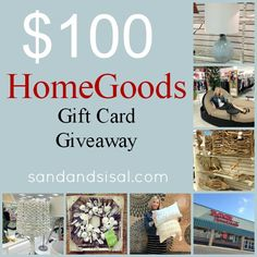 $100 Home Good Giveaway