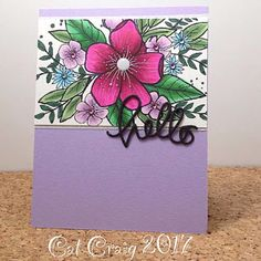 A card making club and challenge blog.