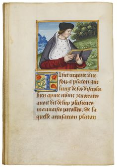 This deluxe manuscript is testimony to the vivid cultural and artistic life in Lyon, where the Renaissance shone brightly. Its author, the famous humanist Pierre Sala, was a key figure in the transition from medieval to Renaissance culture.