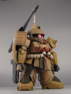 SD ザクキャノン MS-06K