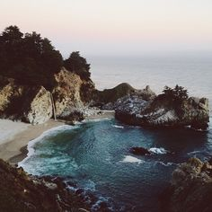 kevinruss: McWay Falls - Big Sur, CA (Taken with Instagram at Big Sur)