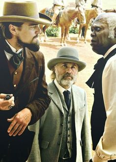 Leonardo DiCaprio, Christoph Waltz and Samuel L. Tarantino Films, Quentin Tarantino, Everything Film, Polo Shirt Women, Polo Shirts, Django Unchained, Film Icon, Christoph Waltz, In And Out Movie
