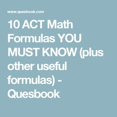 15 Best ACT practice test images in 2018 | Act practice, Act