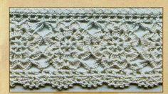 Motif crochet edging #1