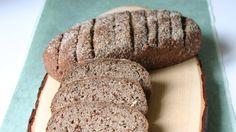 Dunkles Paleo-Brot #paleo #einfach #schnell