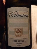 Wittmann Riesling Trocken 2012 - #wine #vin #amazing #recommended #riesling
