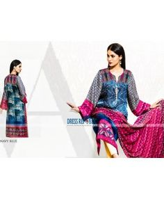 Vaneeza Silk Chiffon Collection 2015