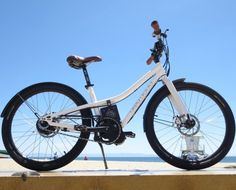 Neal at NTS Works in Santa Cruz built up a prototype Fat Free electric assist bicycle for me to try over the next few days. Electric Assist Bicycle, Bike News, Over The Hill, Solar Energy System, Bike Style, Bicycle Accessories, Solar Panels, Mountain Biking, Motorcycle