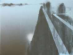 wiktor jackowski  the left bank of the Vistula River, 2018, oil/canvas, 30 x 40 cm