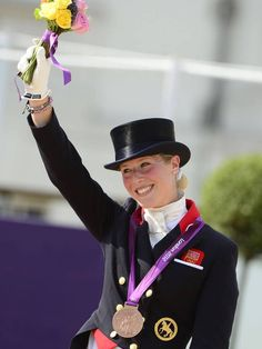 Laura Bechtolsheimer delivered a stunning performance riding Mistral to win gold in the individual dressage on day 13