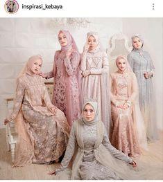 Discover recipes, home ideas, style inspiration and other ideas to try. Dress Brukat, Kebaya Dress, Dress Pesta, Batik Dress, Dress Outfits, Model Dress Batik, Dress Brokat Muslim, Dress Brokat Modern, Kebaya Muslim