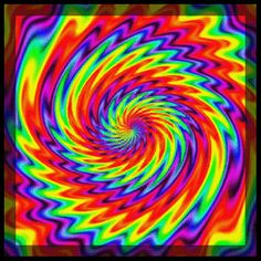"""DG SPECTRUM GIF: '""""Surreal Spiral"""" by Smooothe on Deviant Art.'                            NOTE: PRESS """"VISIT"""" TO SEE 9 MORE GIFS FROM THIS CREATOR.  (THEY CHANGE EVERY TIME """"VISIT"""" IS RE-ENTERED.)                        NTS: I pinned all that I wanted from this collection."""