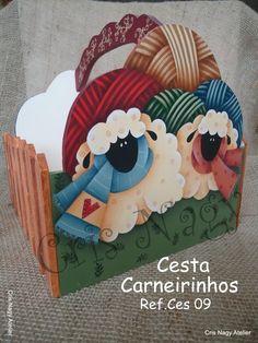 Cesta Carneirinhos