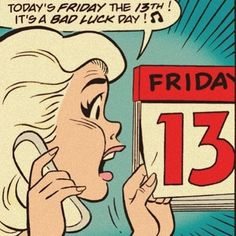 bad-luck-day You are in the right place about Maskara tips Here we offer you the most beautiful pictures about the Maskara art you are looking. Friday The 13th Funny, Friday The 13th Quotes, Pop Art Vintage, Comic Book Panels, Ligne Claire, Pin On, Retro Pop, Archie Comics, Comics Girls