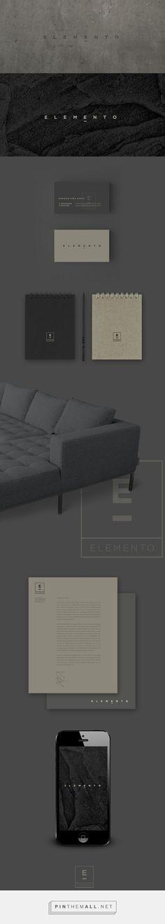 ELEMENTO Furniture Design Studio Branding by Alejandra Astiazarán | Fivestar Branding Agency – Design and Branding Agency & Curated Inspiration Gallery