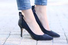 Penny Pincher Fashion: Modern Meets Preppy | Sole Society Mabel Pumps