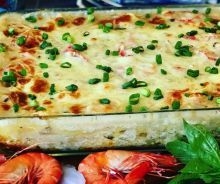 Reall about homade pizza recipes. Seafood Casserole Recipes, Sauce Recipes, Fish Recipes, Seafood Recipes, Pasta Recipes, Cooking Recipes, Seafood Dishes, Fish And Seafood, Homade Pizza Recipes