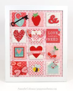valentine pocket letter - Google Search
