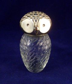 Vintage Avon perfume bottle- hm owls were pop back then too...