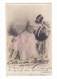 Cleo De Merode   OLD Photo postcard Ballet Dancer Cleo De Merode Belgium King's Lover 1903