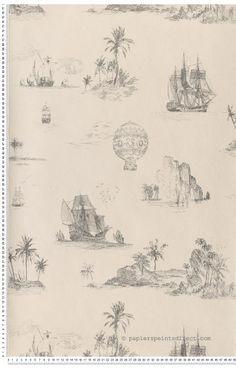 Papier Peint Chantilly : papier peint direct, vente decoration murale et tapisserie murale de maison