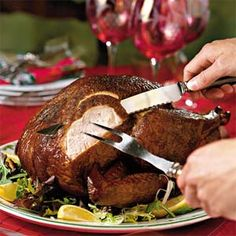 Hickory-Smoked Bourbon Turkey Recipe