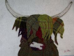 Tweed Coo 2 by KPriceArt on Etsy